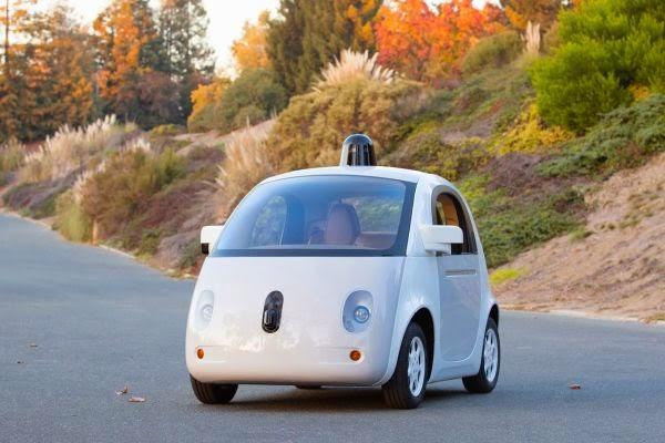 Primer prototipo de coche sin conductor de Google 100%  acabado