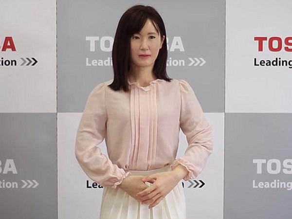 Aiko, la robot humanoide de Toshiba para la atención al cliente