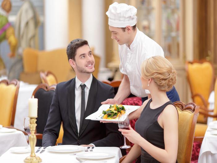 Cena en restaurante