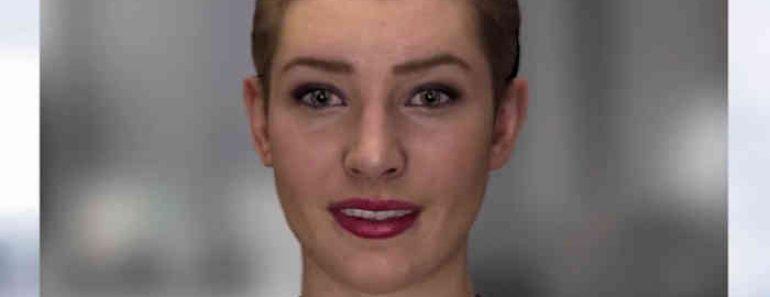 Nadia, el nuevo asistente virtual con empatía y apariencia humana
