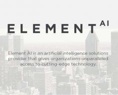 Element AI recauda 102 millones de dólares en una ronda de financiación de serie A