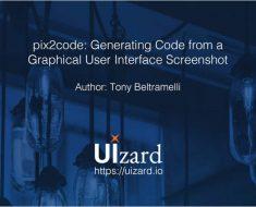 pix2code convierte capturas de interfaces gráficas en código fuente