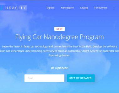 Udacity lanza un curso sobre ¿coches autónomos voladores?