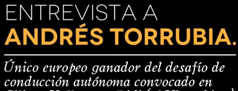 Entrevista Andrés Torrubia reto Didi Udacity