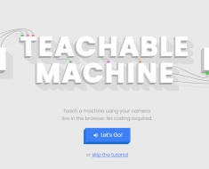 Teachable Machine de Google
