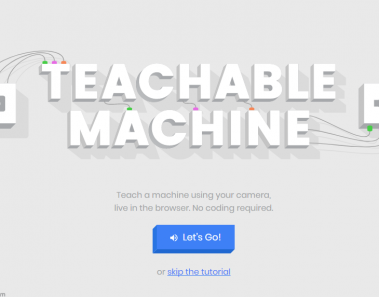 Teachable Machine de Google