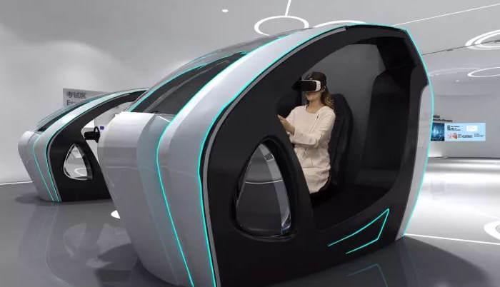 Simuladores para exámenes de conducción en la oficina de policía gestionada por inteligencia artificial