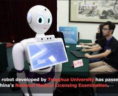 El robot xiaoyi aprueba el examen oficial para ejercer como médico en China