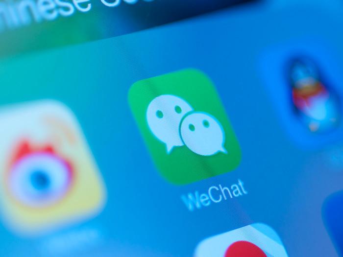 Aplicació WeChat para que sirve