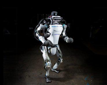 Robot Atlas hace parkour