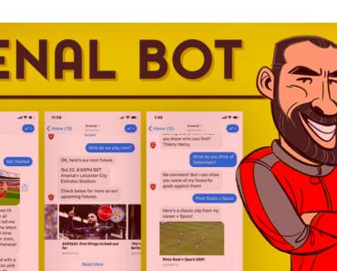 El chatbot oficial del Arsenal: Robot Pires