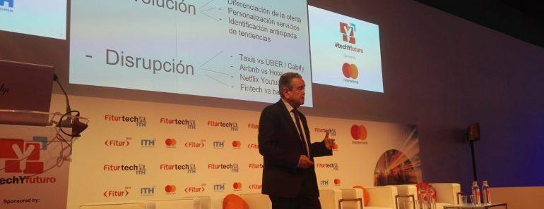 Andrés Pedreño en Fitur