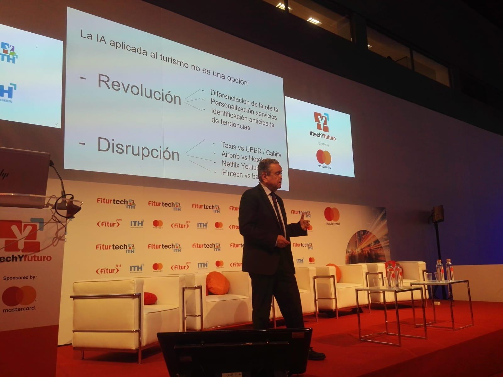 Turismo e Inteligencia Artificial:  revolución vs. disrupción. FITURTECH 2019
