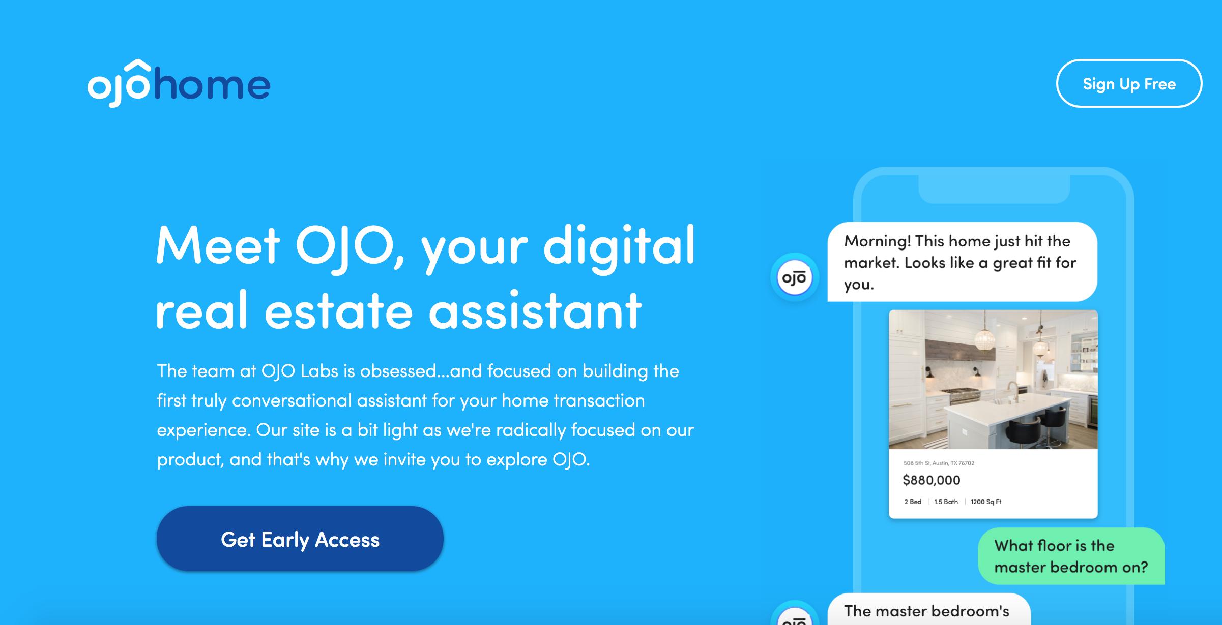 Ojo Labs recauda $ 45 millones para desarrollar un chatbot para el sector inmobiliario