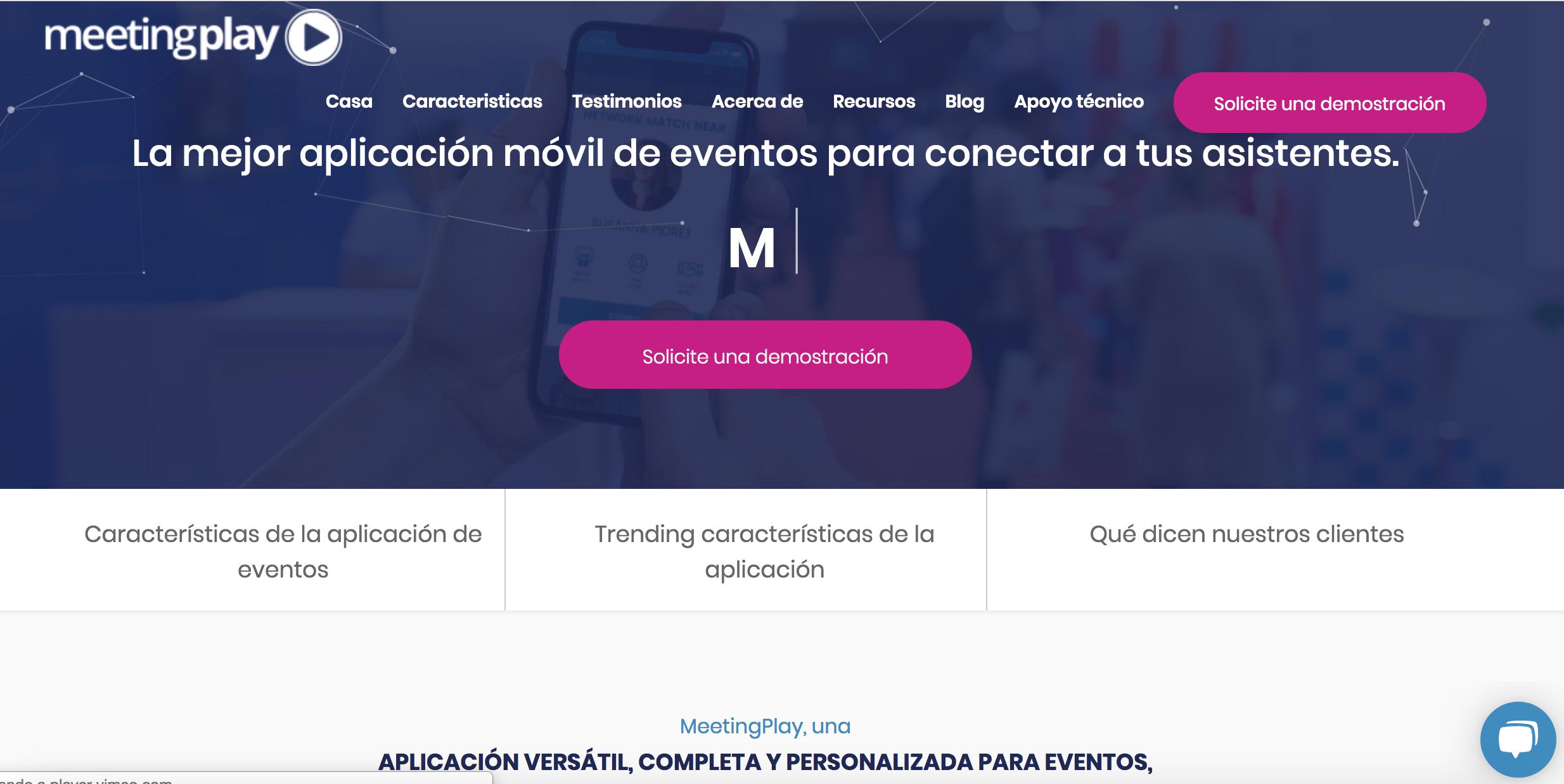 MeetingPlay incorpora la tecnología chatbots a los eventos, pero hay espacio para mucha más innovación