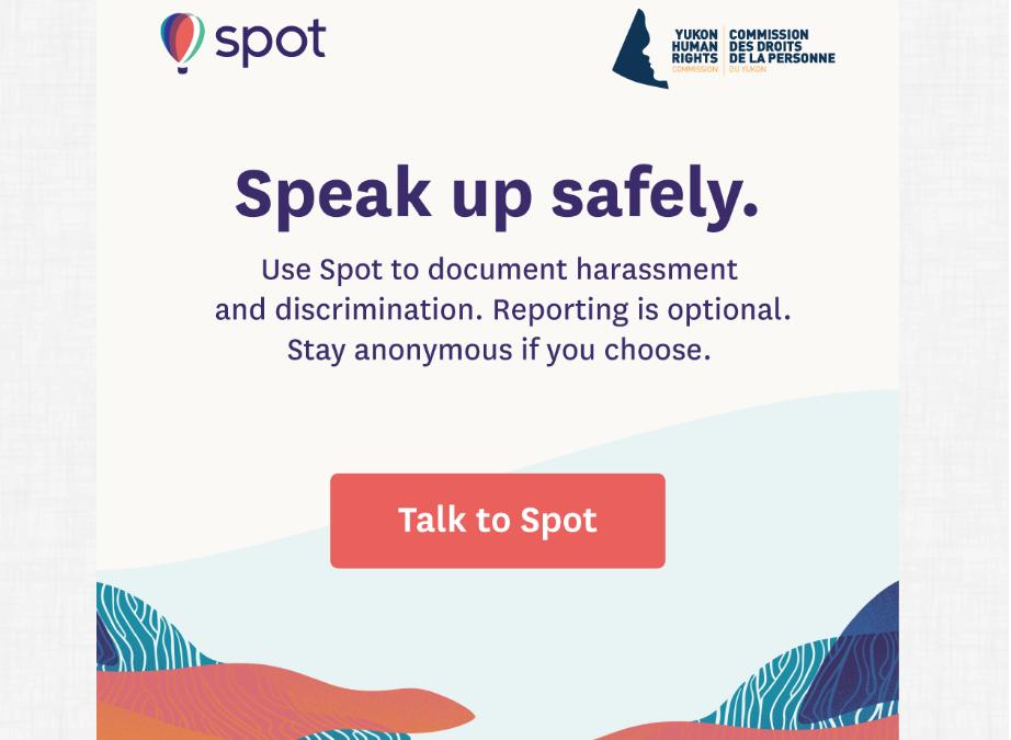 Spot, un chatbot para denunciar el acoso sexual y la discriminación en Yukón (Canadá)