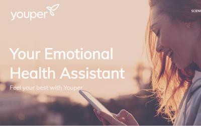 "Youper, un chatbot que ayuda a los usuarios a ""guiar"" sus emociones, recauda 3 millones de $ de capital semilla"