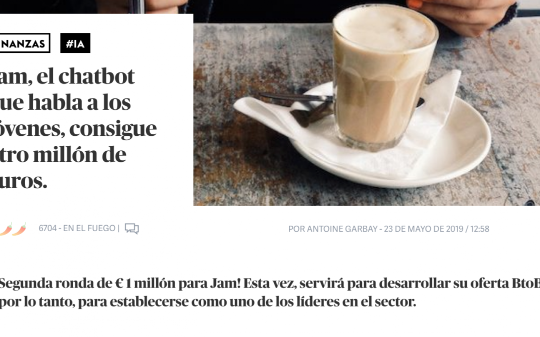 Jam, un chatbot francés que rompe los esquemas tradicionales conversacionales