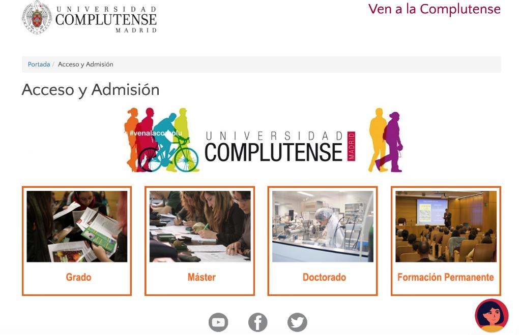 Universidad Complutense de Madrid y Politécnica de Valencia ya tienen chatbots de preinscripción y matrícula