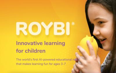 ROYBI, robot IA para la educación personalizada
