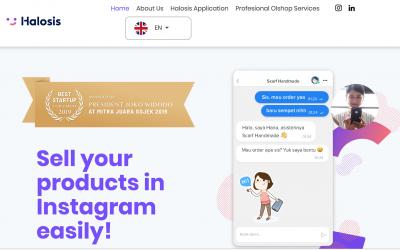 La startup PNL Halosis (Chatbots) recauda 1,2 millones de $ en Indonesia