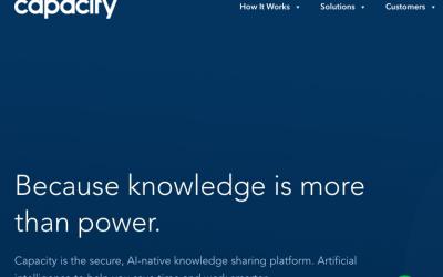 Capacity, la APP que integra las aplicaciones del trabajo en un asistente virtual recauda 13,2 Millones de dólares