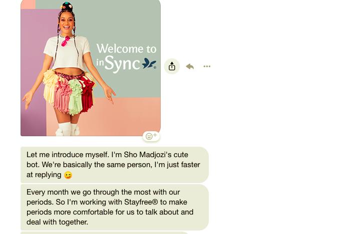 El chatbot que lucha contra el estigma de la menstruación