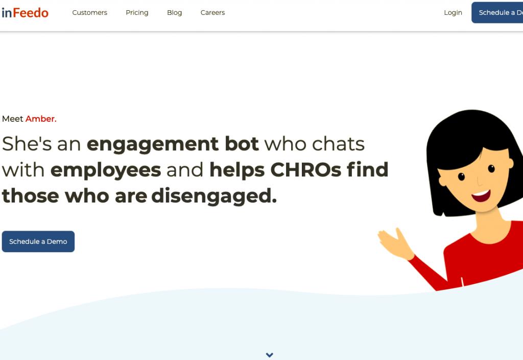 Amber el chatbot interno que ayuda a identificar a los empleados descontentos