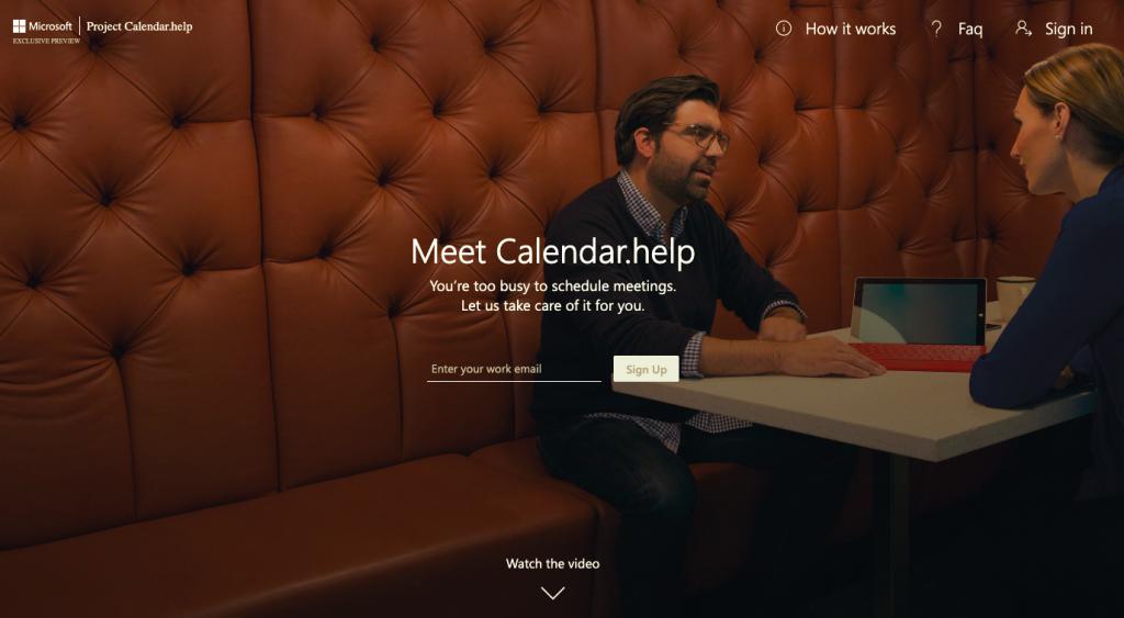 scheduler,el chatbot de microsoft que ayuda con las reuniones