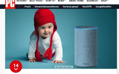 «Alexa, cuida de mi bebé». Nueva aplicación del dispositivo que controla la respiración de tu bebé