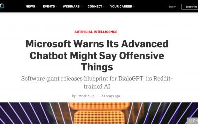 Avances en IA: Microsoft advierte sobre los pros y contras de su nuevo chatbot