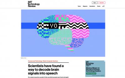 Científicos encuentran la vía para que las personas puedan enviar mensajes de texto desde sus cerebros