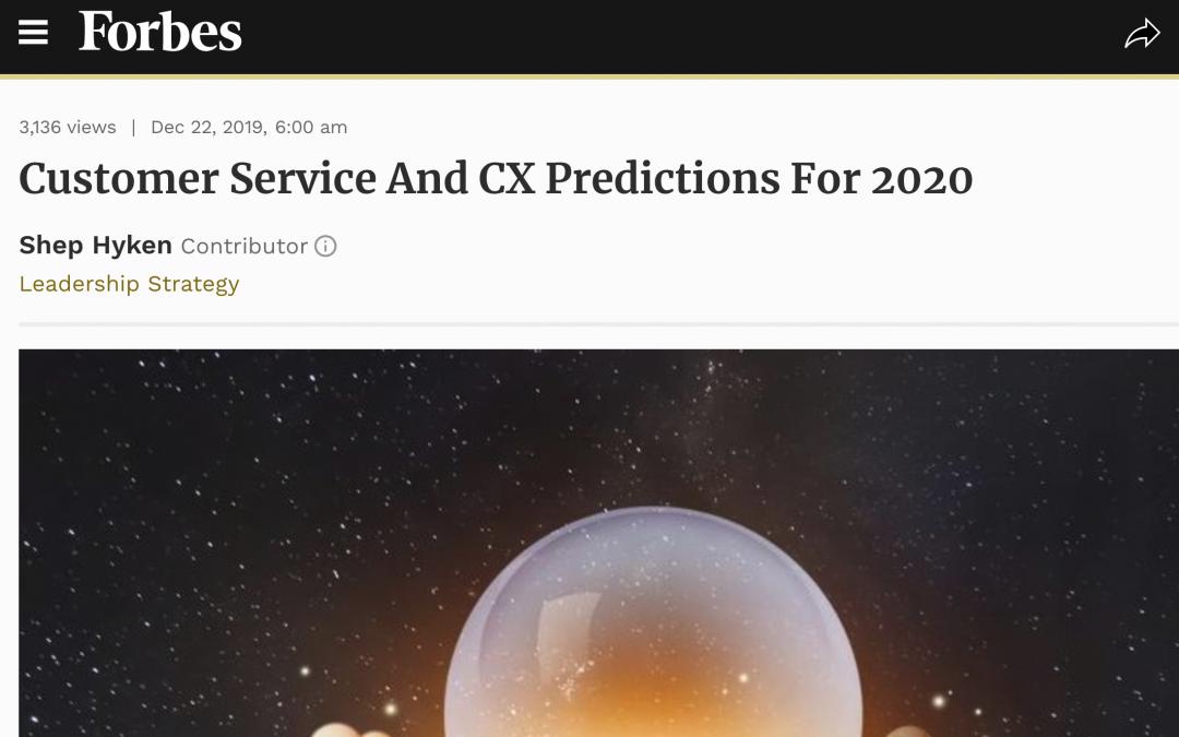 Forbes: Las predicciones sobre asistentes conversacionales y la experiencia de los clientes para 2020