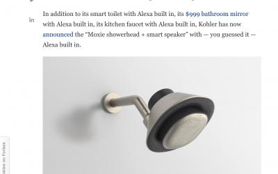 Alexa ahora también en tu ducha