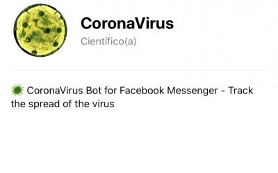 Coronavirus: El bot que te informa sobre la propagación del virus