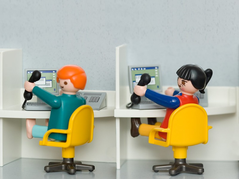 Los chatbots están dando soporte a los call centers que se han vaciado por la pandemia